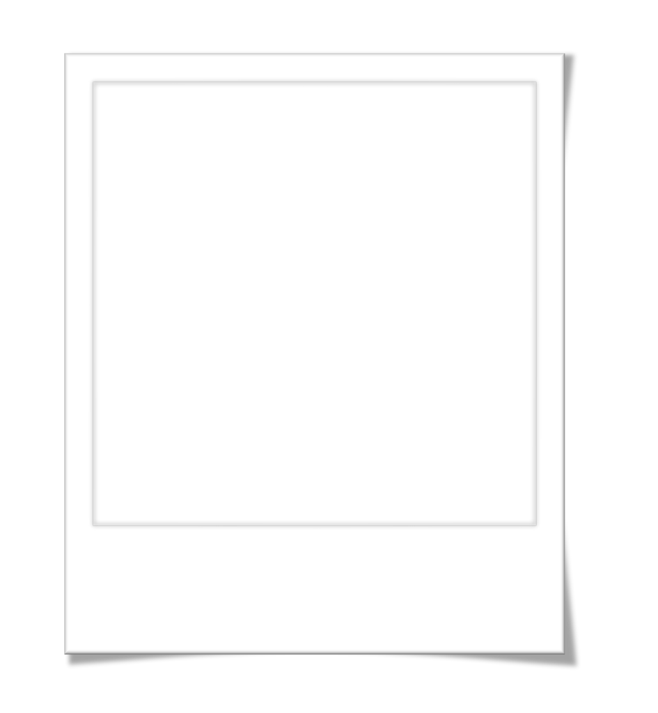 полароид фото шаблон
